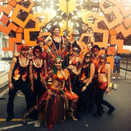 FireTribe at the Cape Town Carnival 2015