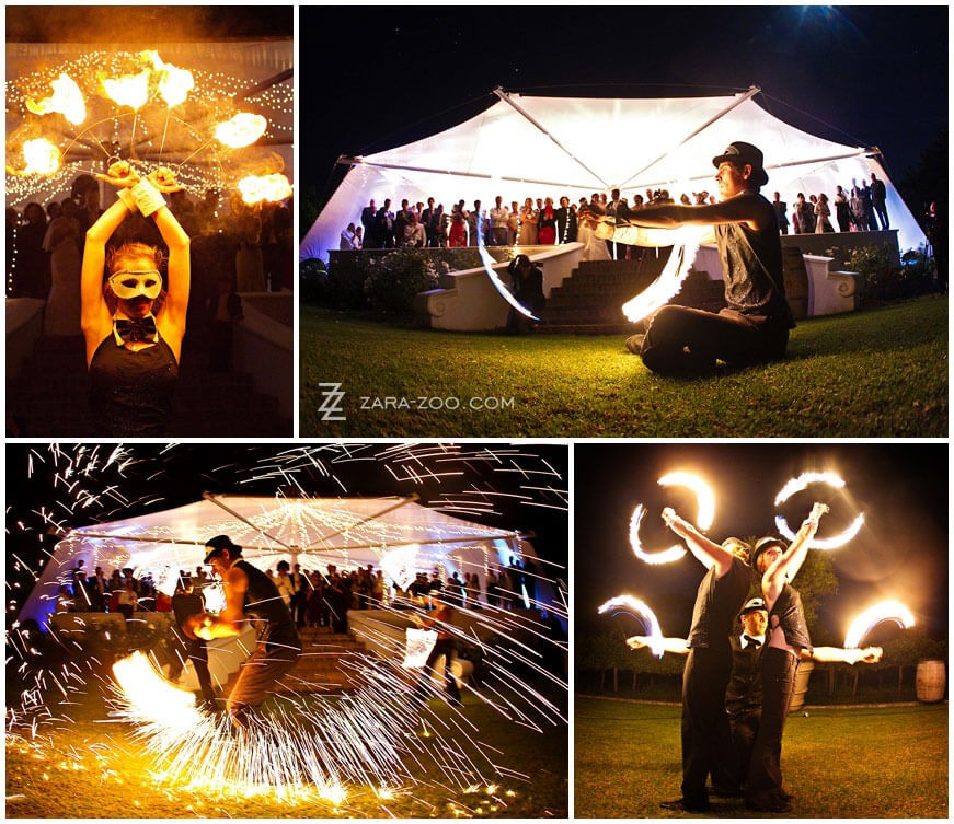 FireTribe fire dancing performances wedding entertainment cape town