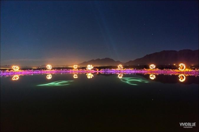 Perfect symmetry along Cavalli's dam