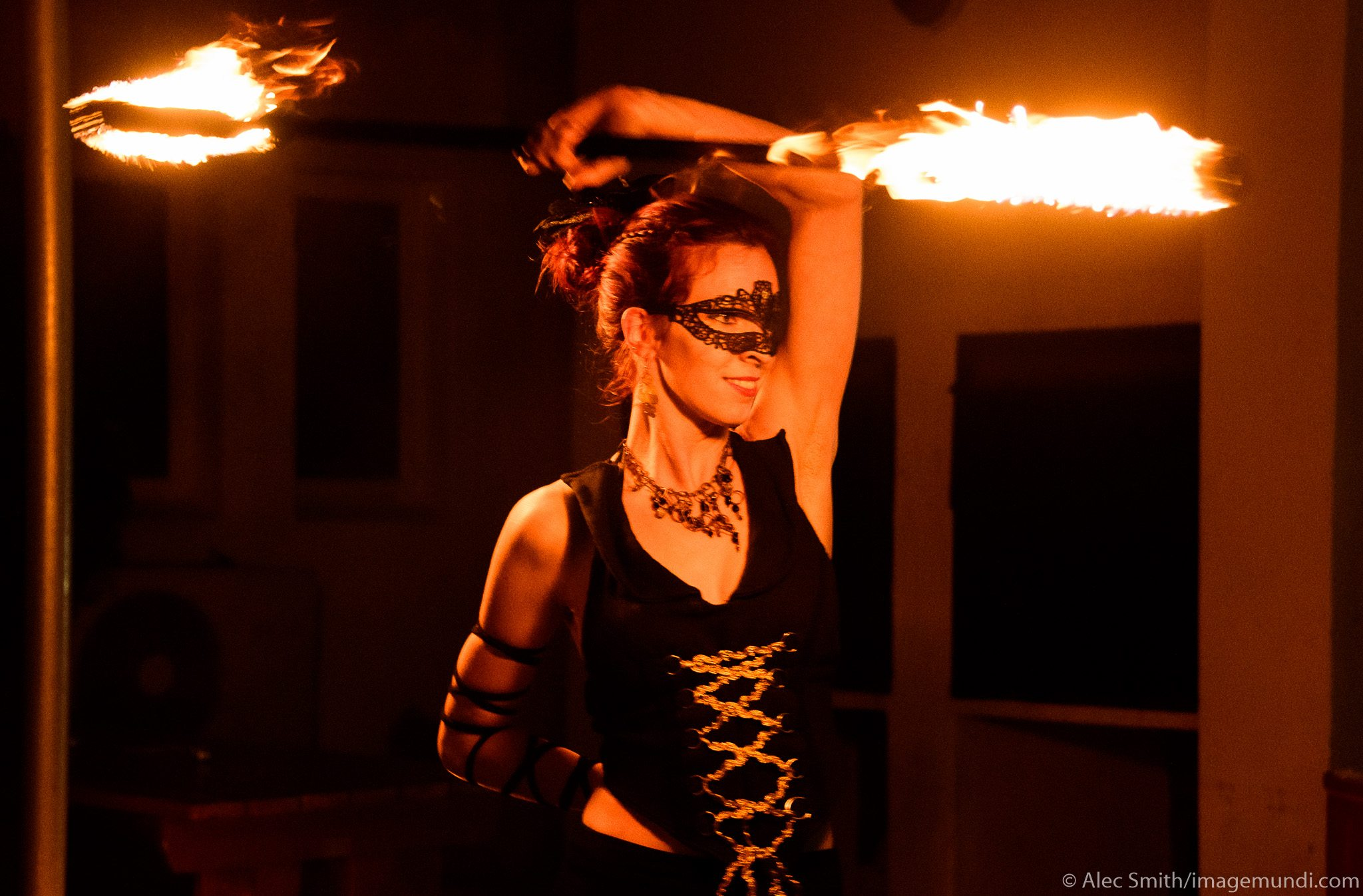 Circle of Fire - Caitlin from FireTribe - Fire Performance Retreat