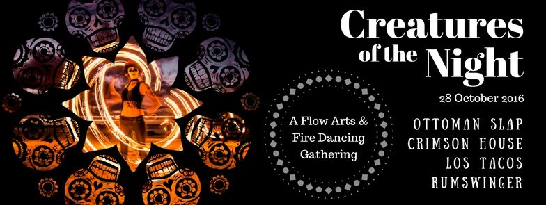 Creatures of the Night - Halloween Fire Dancing Event