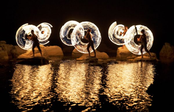 FireTribe are fire dancers in cape town